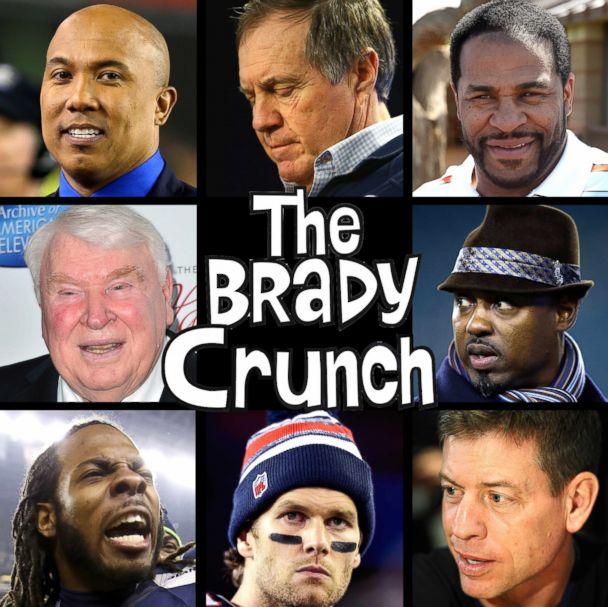 Deflate Gate Nfl Players Pile On New England Patriots Quarterback