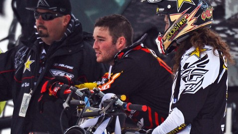 gty caleb moore tk 130128 wblog Snowmobiler Caleb Moore in Critical Condition After Winter X Games Crash