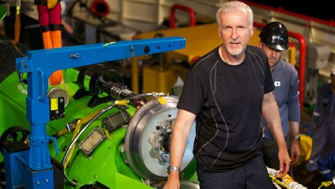 AP james cameon explorer 120326 wblog Filmmaker James Cameron Completes Journey to Oceans Deepest Point