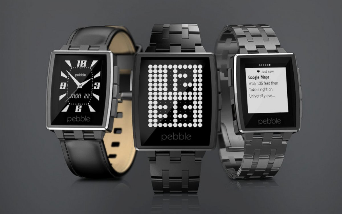 HT ces pebble watch jtm 140107 Google Seeks to Dominate OS for Wearable Devices