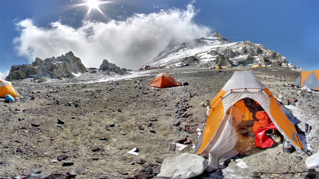 abc aconcagua camp colera jt 130317 wmain Now Visit Mt. Everest or Mt. Kilimanjaro From Your Desk With Google Maps