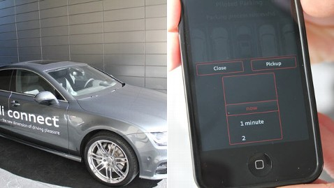 CES Audi Car Parks Itself And Picks You Up With A Tap Of An - Audi car that parks itself