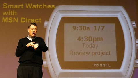 ap bill gates smart watch jef 130415 wblog Microsoft Working on Smartwatch Too, Says Report