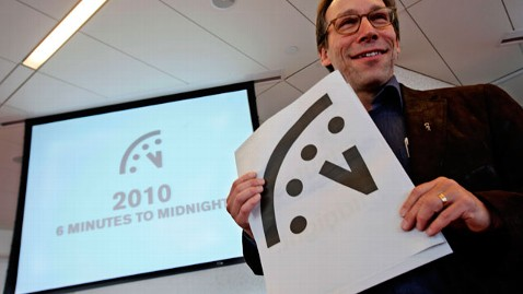 ap doomsday clock nt 120109 wblog Doomsday Clock a Minute Closer to the End
