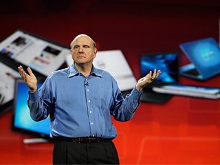 PHOTO: Steve Ballmer at CES