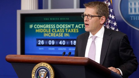 ap tax clock jef 111205 wblog White House Unveils Payroll Tax Cut Countdown Clock