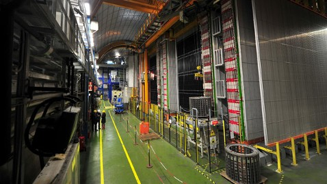 gty cern opera experiment thg 120223 wblog Faster Than Light Neutrino Experiment Needs Redo