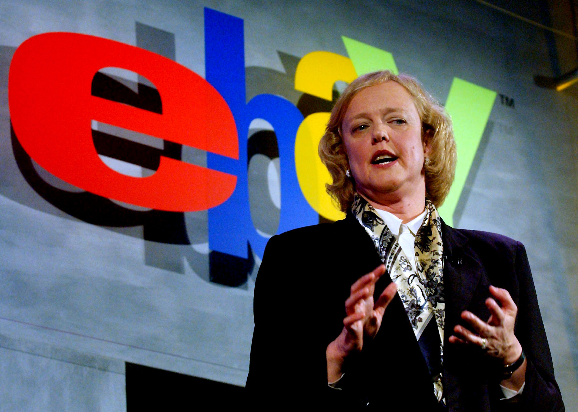meg whitman at ebay Meg whitman shares her stories of hp, ebay and the aftermath of a failed run for california governor.