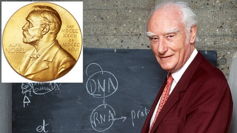 gty francis crick tk 130225 wblog Nobel Prize for Sale; Belonged to DNA Pioneer Francis Crick