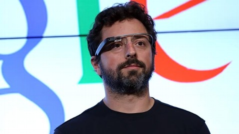 gty sergey brin jef 130228 wblog Emasculating: Sergey Brin Says Google Glass Outdoes Smartphones