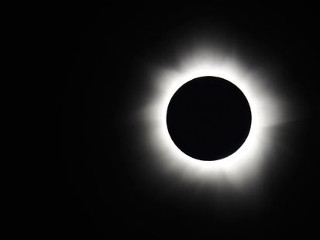 PHOTO: A total solar eclipse is seen at Palm Cove, Australia, Nov. 14, 2012. Thousands of eclipse-watchers have gathered in part of North Queensland to enjoy the solar eclipse, the first in Australia ...