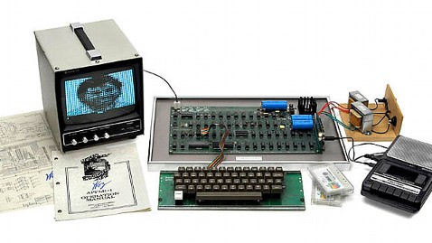 ht Apple I auction kb 130527 wblog Vintage Apple 1 Sells for $671,000