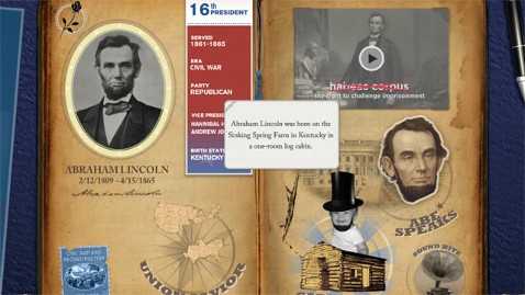 ht Disney Scrapbook kb 121012 wblog App of the Week: Disney American Presidents: Unofficial Oval Office Scrapbook
