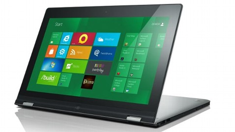 ht Lenovo Yoga nt 120604 wblog Lenovo Yoga Convertible Laptop Tablet Coming with Windows 8 RT