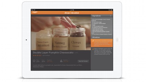 ht allrecipes ipad kb 121116 wblog App of the Week: Allrecipes.com Video Cookbook for iOS