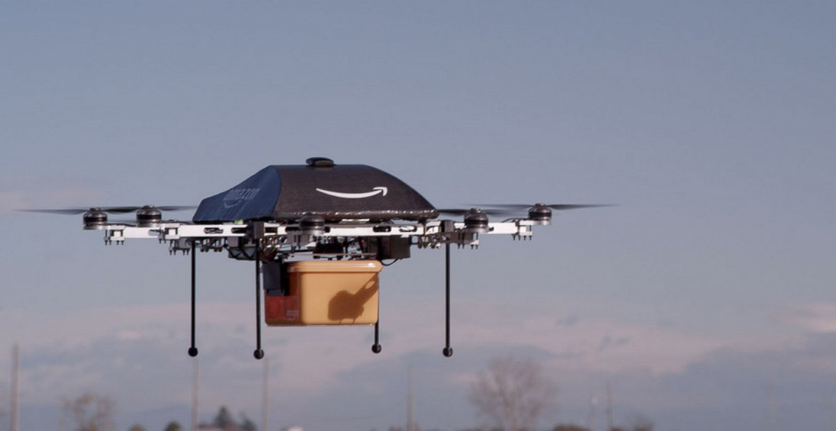 ht amazon drone 131201 FAA Approves Six Delivery By Drone Test Sites