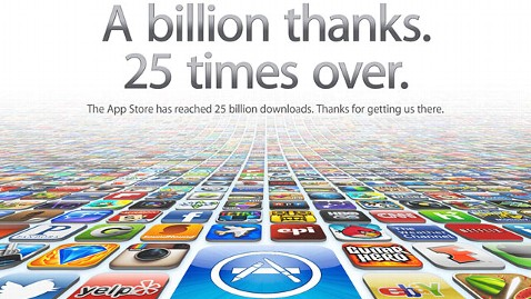 25 billion apps downloaded from the apple app store abc news.