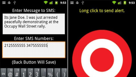 ht arrested app tk 111025 wblog About to Get Arrested at #OccupyWallStreet? Theres an App for That