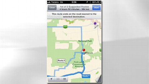 ht australia apple maps jp 121210 wblog Australian Police Urge Motorists to Turn Away From Apple Maps
