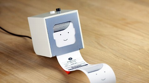 ht berg cloud little printer jp 113011 wblog Little Printer Produces Personalized Mini Newspapers