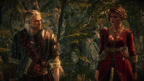 ht brigida and geralt ll 120425 wblog Review: The Witcher 2 Assassins of Kings   Enhanced Edition for Xbox 360