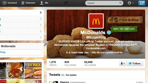 ht burger king twitter hack tk 130218 wblog Instant Index: Michelle Obamas Midlife Crisis; Burger King Hacked