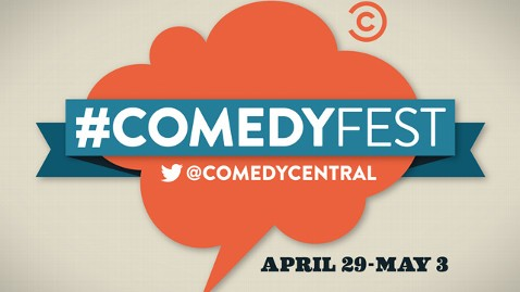 ht comedy central twitter festival thg 130422 wblog Comedy Central to Host Comedy Festival... on Twitter