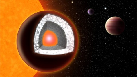 ht diamond planet lpl 121011 wblog A Planet Made of Diamond, Twice the Size of Earth