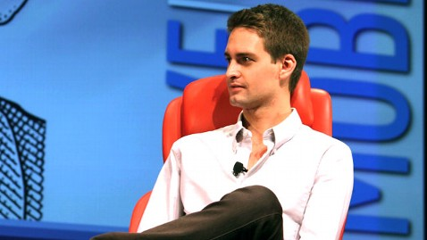 ht evan spiegel jef 130416 wblog Snapchat Users Upload 150M Photos a Day, Then App Deletes All