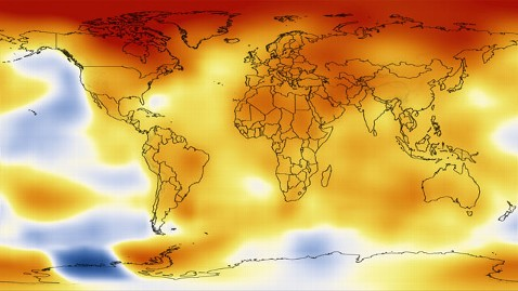 ht global temperature mi 130115 wblog 2012 Was 9th Warmest Year on Record, Says NASA