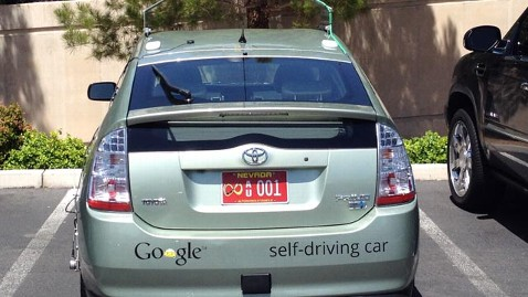 ht google car jef 120508 wblog Google Self Driving Car License Approved in Nevada