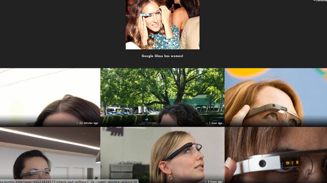 ht google glasses 02 mi 130503 wmain Google Glass Highlights Gender Issues in Tech World