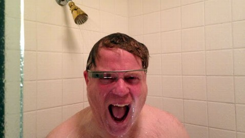 ht google glasses shower jef 130429 wblog Google Glass Takes On Shower Test
