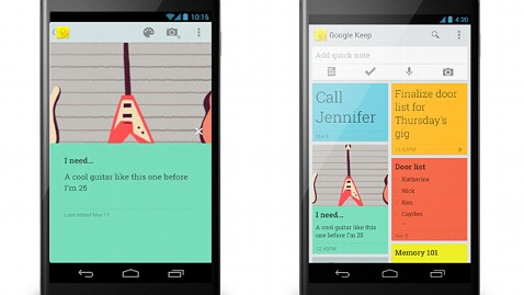 Google Keep' Keeps Your Phone and Web Notes Synced - ABC News