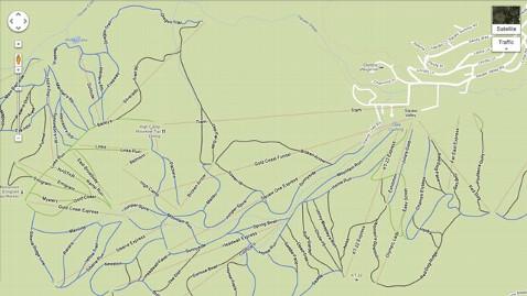 ht google maps squaw valley skiing thg 130206 wblog Google Adds 38 Ski Slopes to Google Maps App