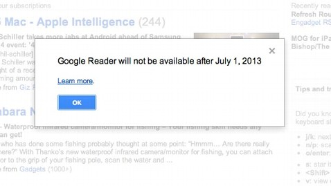 ht google reader jef 130314 wblog Google Puts the Kibosh on Google Reader RSS Service