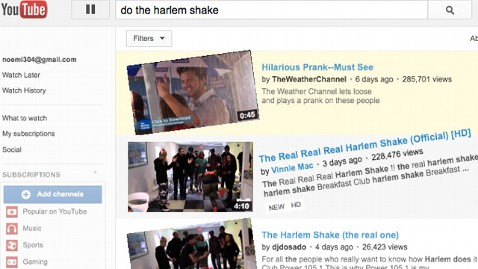 ht harlem shake youtube nt 130301 wblog YouTubes Do the Harlem Shake Easter Egg