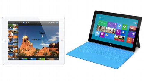 ht ipad surface nt 121025 wblog Apple CEO Tim Cook: Microsofts Surface Tablet Confusing and Compromised