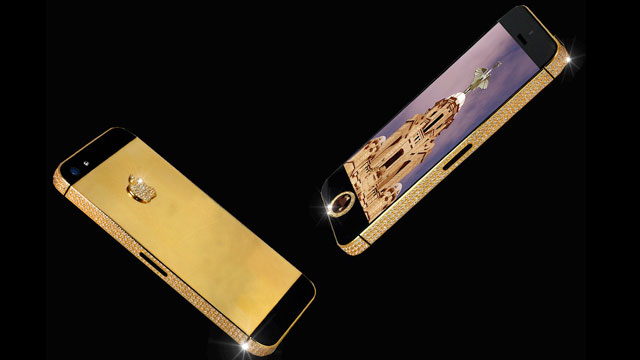 ht iphone5 black stone 02 jef 130415 wmain Worlds Most Expensive Smartphone: $15M iPhone Has a Black Diamond