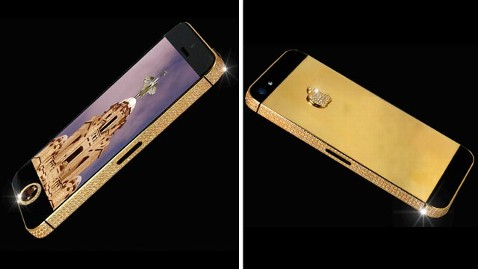ht iphone5 black stone jef 130415 wblog Worlds Most Expensive Smartphone: $15M iPhone Has a Black Diamond