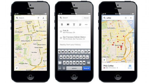ht iphone google maps update ll 130305 wblog Google Updates iPhone Maps So You Can Find Places, Friends