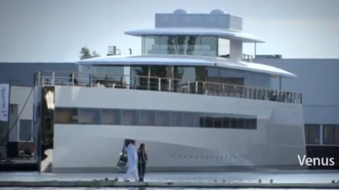 ht jobs yacht dm 121029 wblog Steve Jobs Yacht, Venus, Makes Public Debut