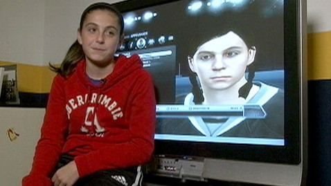 ht lexi peter jef 111121 wblog 14 Year Old Girl Becomes Female Face of NHL Video Game