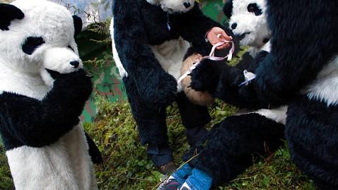 порно в костюме пандаъ