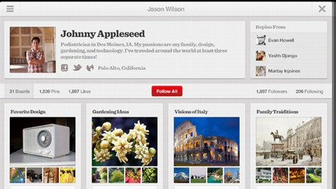 ht pintrest ipad app lpl 120824 wblog App of the Week: Pinterest for iOS and Android