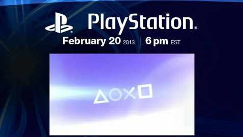 ht playstation lt 130131 wblog Is Sony Announcing the PlayStation 4 on February 20?