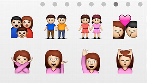 ht same sex emoticons jp 120615 wblog Apple iOS 6 to Include Gay and Lesbian Couple Icons