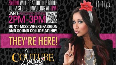 ht snooki invite jp 120103 wblog Snooki Heading to CES 2013 With New Line of Tech Gear