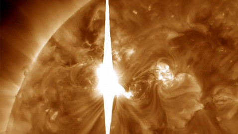 ht solar flare ll 120309 wblog Solar Flares 2012: Another Storm Coming