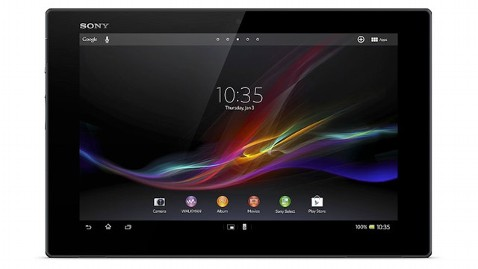 ht sony xperia tablet z jt 130224 wblog Sony Xperia Tablet Z Takes Title of Thinnest and Lightest Tablet